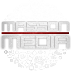Masson Media Logo New white